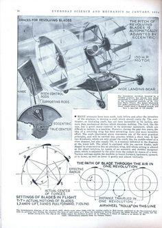 Airwheel Plane, Paddle Wheel Boat (1934)