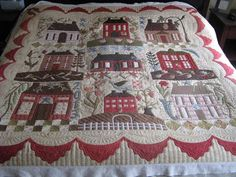 Home Sweet Home by Blackbird Designs (Barb Adams and Alma Adams) - pieced and quilted by Michelle Wyman