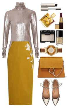 """""""Brock collection"""" by thestyleartisan ❤ liked on Polyvore featuring PALLAS, Brock Collection, Sigerson Morrison, Malie Organics, Michael Kors, Chloé, NARS Cosmetics, Ilia, Chanel and Tom Ford"""