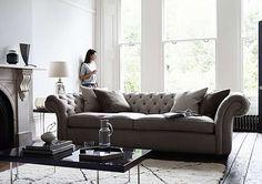Langham Place 4 Seater Fabric Sofa