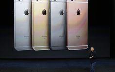 Phil Schiller, da Apple, apresenta novos modelos de iPhone em São Francisco, Estados Unidos (Foto: Eric Risberg/AP)