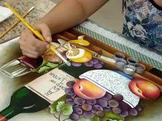 Marcia Gama de Mello- Uvas e Garrafa -acabamento - YouTube
