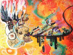 Artwork, Painting, Work Of Art, Painting Art, Paintings, Paint, Draw