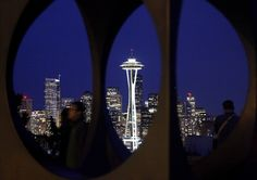 Space Needle as seen from Seattle's Kerry Park.
