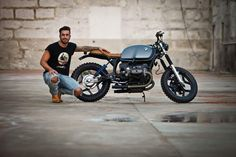 German Power - BMW R80 RT by Diogo Oliveria of Classic Way Garage