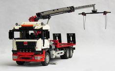 World Of Tanks, Benne, Lego Truck, Nerf, Trucks, Backhoe Loader, Tray, Truck