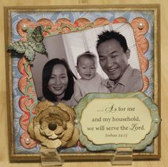 6x6 Card - Personalized with Verse