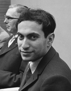 """Mikhail Tal, the """"Magician from Riga,"""" in 1962."""