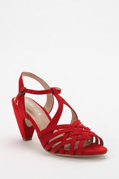 Chelsea Crew Noreen Heel ~ UrbanOutfitters ~ also comes in black or blue ~ $39.99 • was $59.00