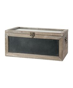 Weathered Greenhouse box - looks easy enought to build, just wood & plexi-glass!