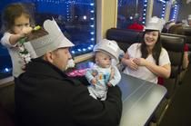 BNSF sponsors holiday rail jaunt for service families - Spokesman.com - Dec. 5, 2013  Charlie & Avery quoted!