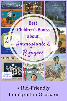 Help children develop empathy about what it's like to be an immigrant or refugee with these 11 moving picture books. Click through for the full book list to use in your home or classroom, plus a resource pack that will help you teach children the basics o Poetry Books For Kids, Kid Books, Third Grade Books, Barefoot Books, Geography For Kids, Read Aloud Books, Award Winning Books, Preschool Books, Chapter Books