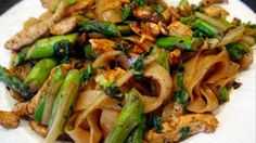 Chili Chicken With Asparagus