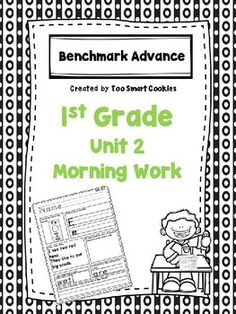 2nd Grade Benchmark Advanced Unit 1 Week 3 High Frequency