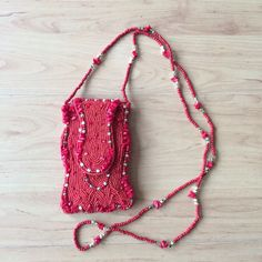 Carterita para el celular. #mobile #purse #madeinindia #red #fashion #urban #zocoshop #ecuador