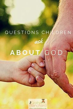 What is your child asking about God? On our website we highlight some of the questions your kids ask about God. Parenting Ideas, Christian Parenting, Child Life, New Parents, Highlight, Childrens Books, Back To School, Life Hacks, God