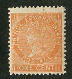 Prince-Edward-Island-11b-1c-Brown-Orange-Cents-Issue-Perf-12-6-F-67-NH