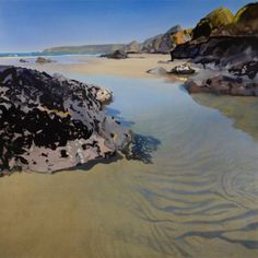 Bob Rudd, Blue Pool, Bedruthan Steps