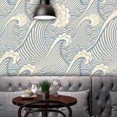 Adesivo de parede Waves