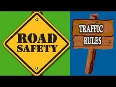 Road Safety & Traffic Rules -Video for kids