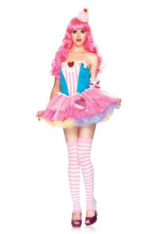 This is my favorite cupcake costume I've found so far.  $48.99