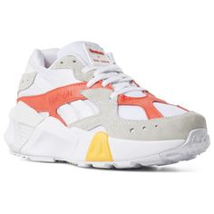 111f2ddcf90b Reebok Shoes Unisex Aztrek Double x Gigi Hadid in White/True Grey/Red Size  M 10.5 / W 12 - Retro Running Shoes