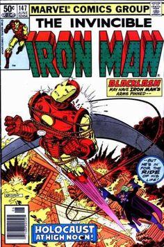 Invincible Iron Man 147 - David Michelinie (w), John Romita Jr. (p), Bob Layton (i) Marvel Comics Art, Marvel Comic Books, A Comics, Marvel Heroes, Marvel Characters, Marvel Avengers, Tony Stark, Iron Man Flying, Iron Man Comic Books