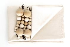 Wooden Bead Tablecloth by Mono Online Shop