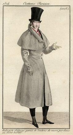Costume Parisien 1824