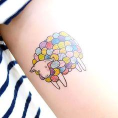 Small Sheep Tattoo Idea