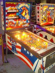 Bildresultat för vintage pinball machines