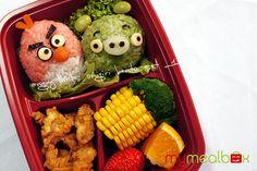 Angry Birds Bento!!!