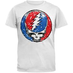Grateful Dead - Scratched Stealie T-Shirt