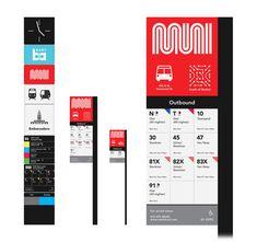 San Francisco MUNI Rebranding Concept