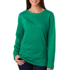 Lat Sportswear 3588 Women's Classic Comfortable Long-Sleeve T-Shirt