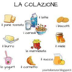 Way To Learn French Student Printer Crafts Website Italian Grammar, Italian Vocabulary, Italian Phrases, Italian Words, English Phrases, Italian Language, Learning French For Kids, Learning Italian, Learn To Speak Italian