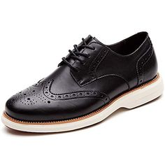 new product abb8a 6163c Laoks Mens Oxford Shoes Wingtip Genuine Leather Lace up Dress Shoes.CLASSIC  STYLE  Comfort