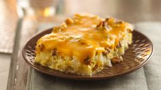 BREAKFAST TO WAKE UP TO: Overnight Tex-Mex Egg Bake.Spice up your breakfast menus by serving an egg casserole featuring spicy sausage, green chilies and salsa. Breakfast Dishes, Breakfast Casserole, Breakfast Recipes, Egg Casserole, Mexican Breakfast, Breakfast Ideas, Breakfast Potluck, Broccoli Casserole, Vegetarian Breakfast