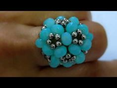 DIY - FLOR DE PÉROLAS - YouTube