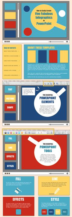 PowerPoint Infographic Creation Basics [HubSpot Infographic]