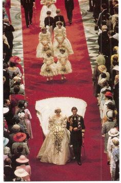Down the Aisle, July 29.1981