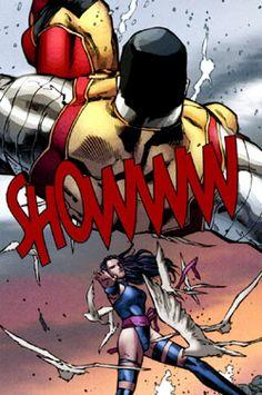 Psylocke vs Colossus