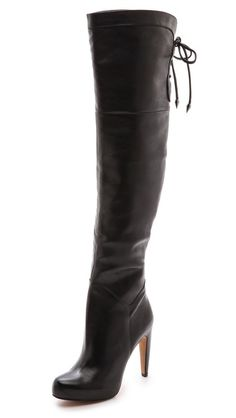 Sam Edelman Kayla Over the Knee Boots...AWRIGHT, NIECE!  Somebody going to get HURT.COM when I rock these!