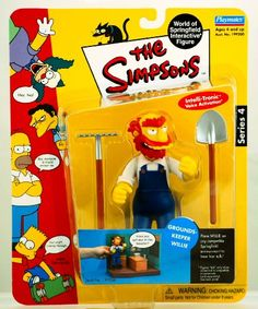 The Simpsons World of Springfield Groundskeeper Willie Series 4 The Simpsons