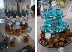 Cupcakes y pastelitos para baby shower