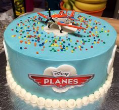 Planes Cake misscloudberry Tags birthday party two dusty