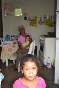 My god-daughter. Dominican Republic.