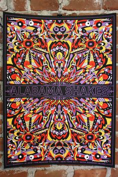 Alabama Shakes concert poster