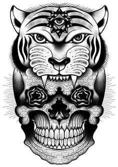 Skull by Tom Gilmour