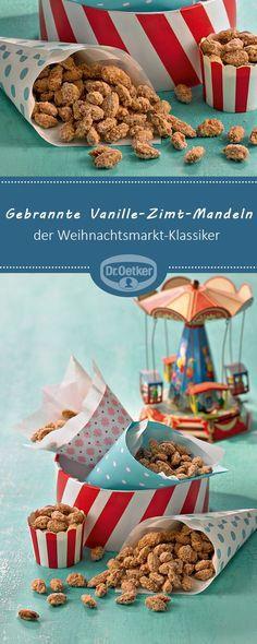 Gebrannte Vanille-Zimt-Mandeln: Der Kirmes- und Weihnachtsmarkt-Klassiker für zu Hause